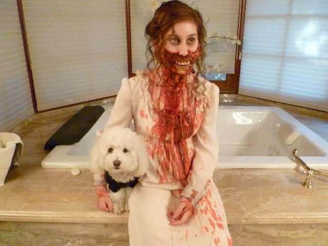 Büszkeség és balitélet zombi jelmez