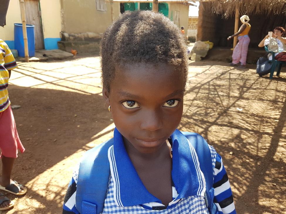 Guinea-i iskoláslány