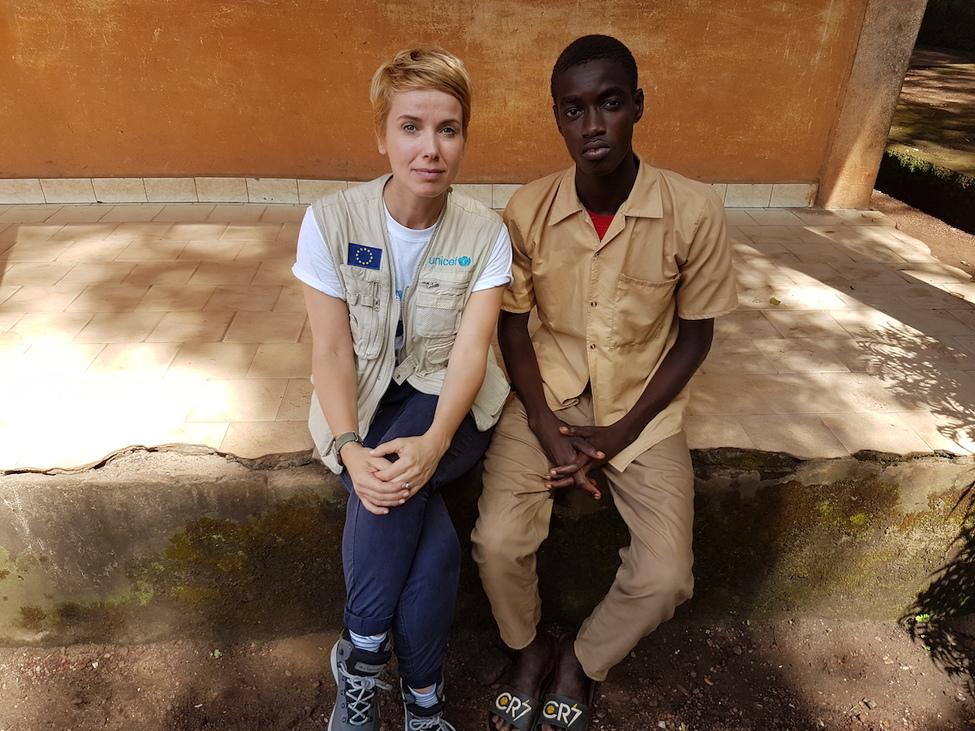 Fodé, a fiú, aki elvesztette az apját az ebolajárványban