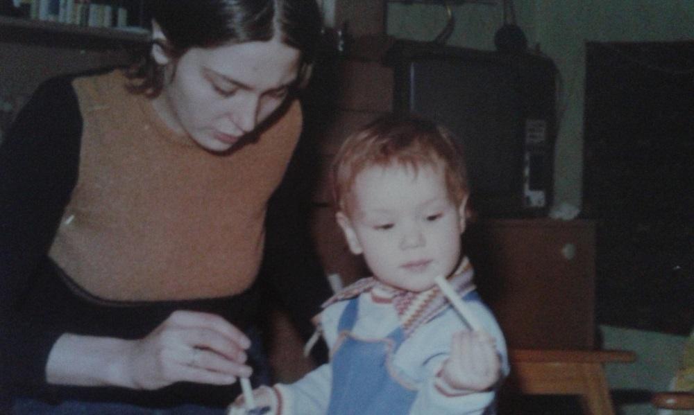 A kis Orsi és anyukája