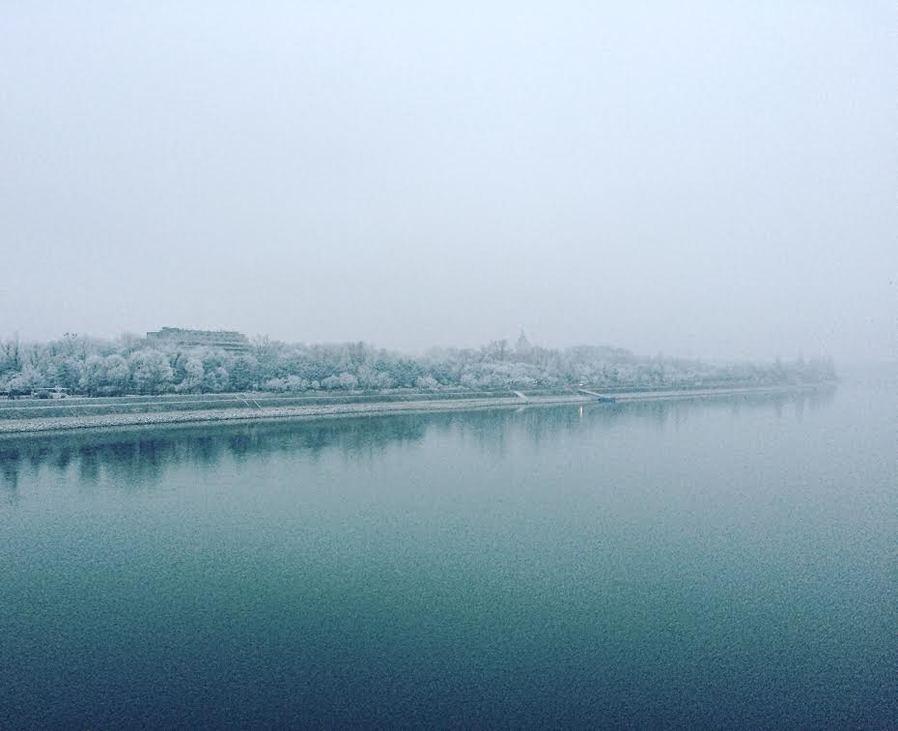 margitsziget télen