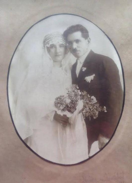 Köllő Gergely és Gál Józéfa esküvője, 1928