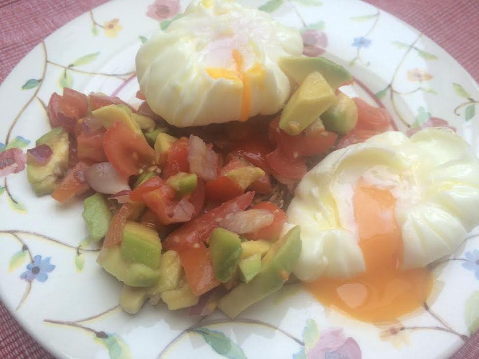 buggyantott tojás
