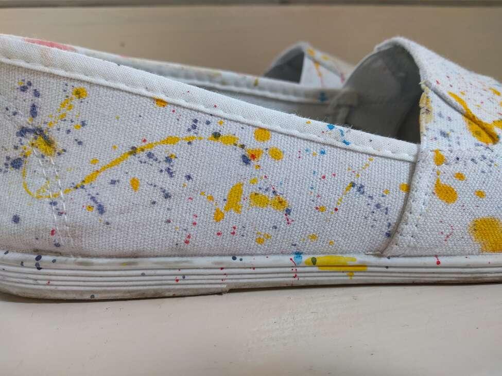 a cipő oldala