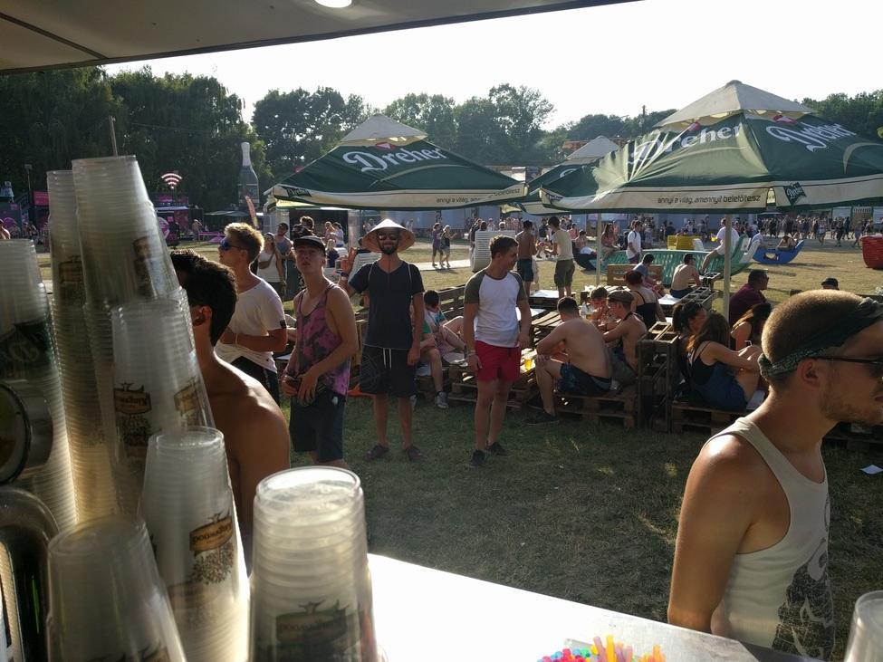 Party helyszin a szigeten