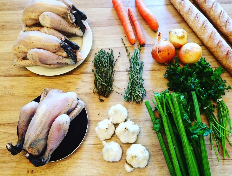 Fokhagymás csirke - starter kit