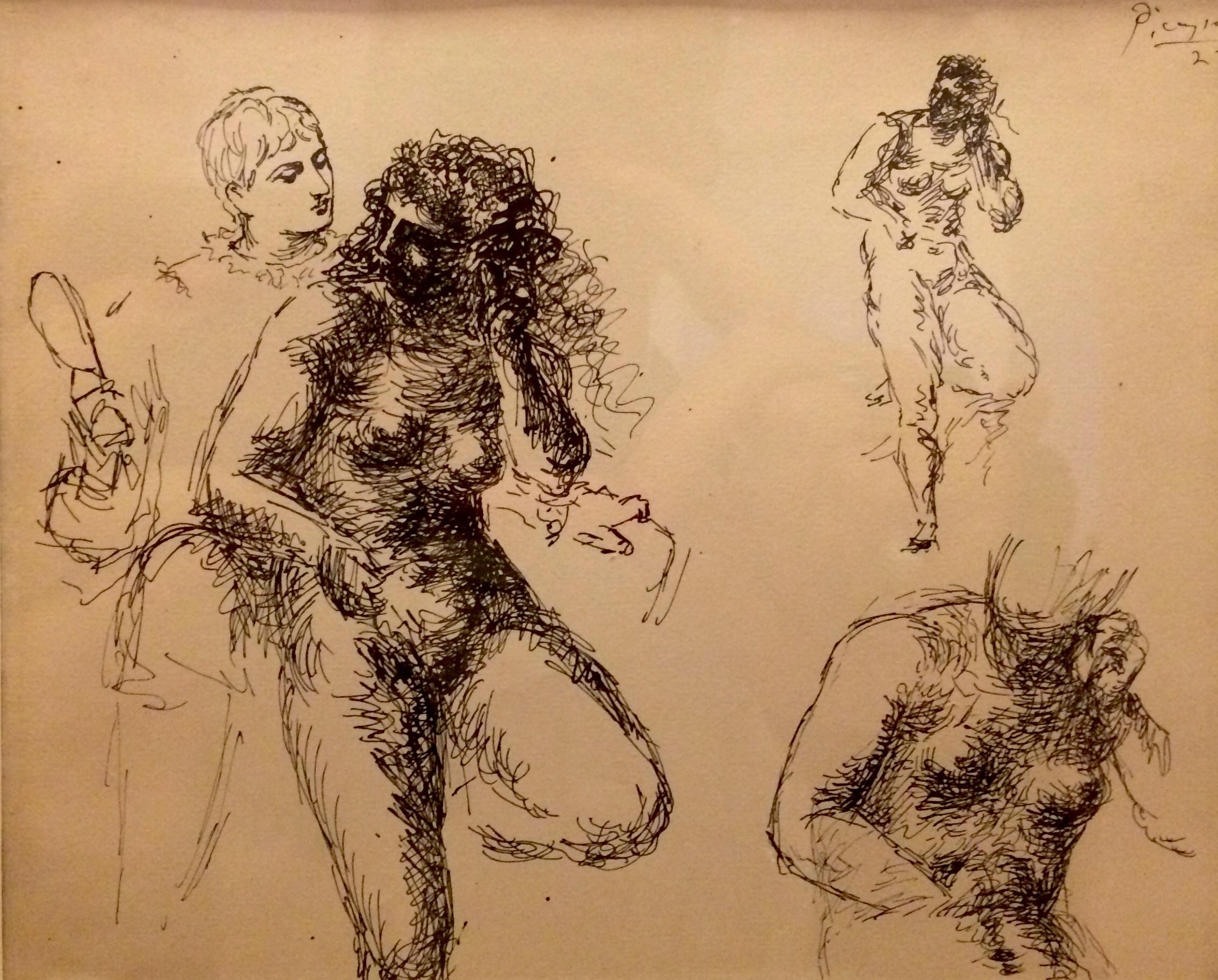 Picasso korai műve, ebből kiderül, hogy tényleg nagyon tudott rajzolni
