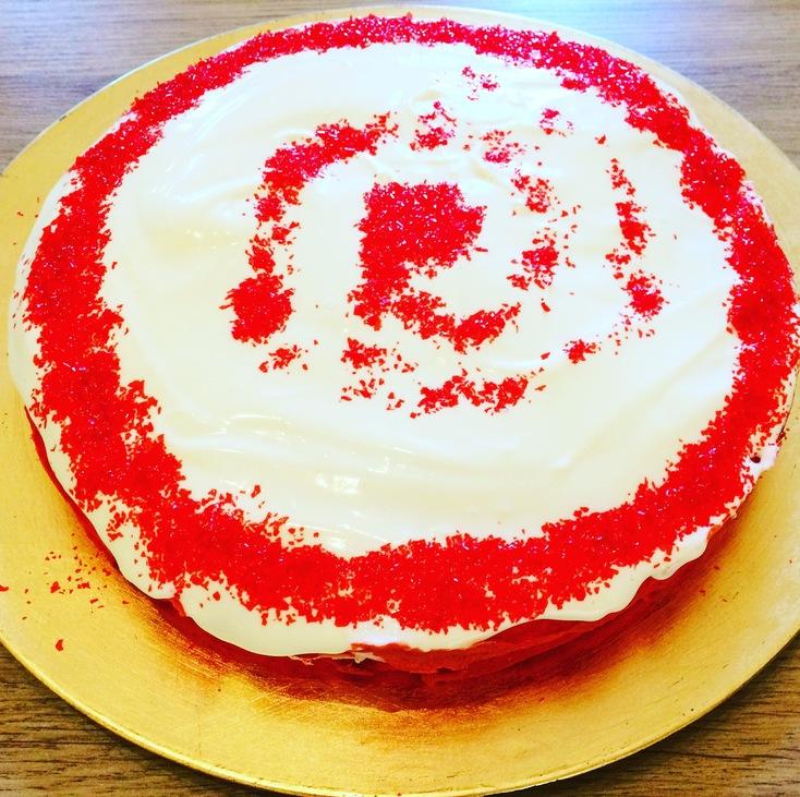 Vörös bársony torta