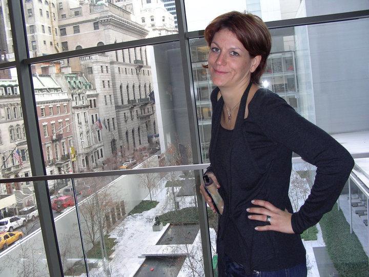 New York és a szerző