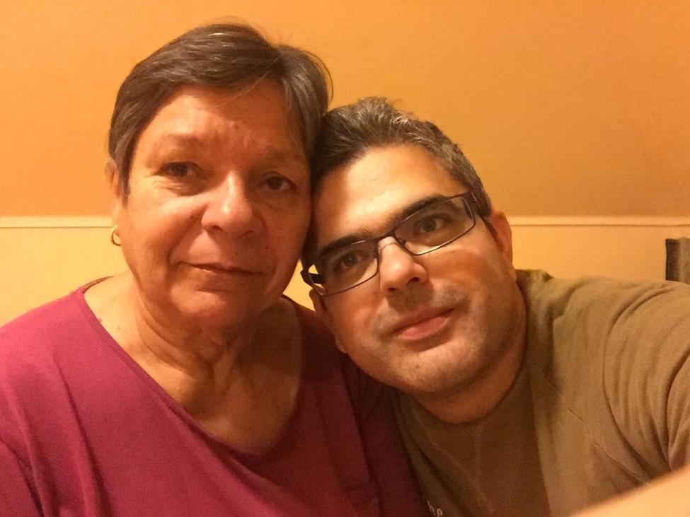 Bocskai Krisztián édesanyjával