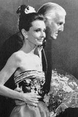 A Givenchy-ház 30. születésnapján, 1983-ban