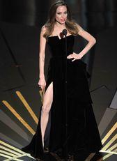Angelina Jolie a 2012-es Oscar-gálán