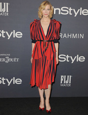 Cate Blanchett a 2017-es InStyle-gálán