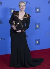 Meryl Streep a 2017-es Golden Globe-on