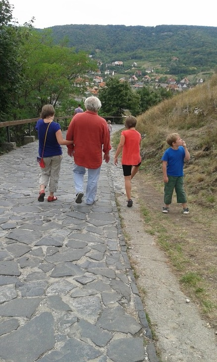 A gyerekek az apjukkal