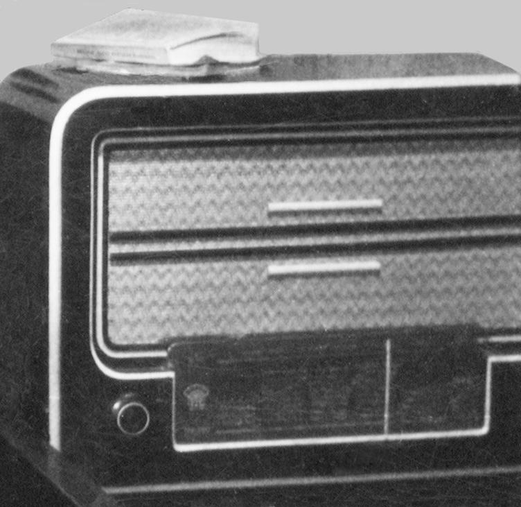 rádió, amin szerzőnk a holdra szállást hallgatta, szinkronban a történésekkel