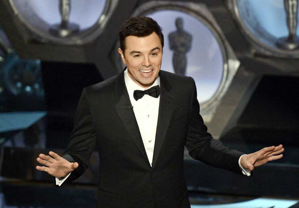Seth MacFarlane 2013-ban - Forrás: Getty Images/Kevin Winter