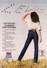 Levi's-reklám 1980-ból
