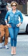 J.Lo 2014-ben talpig famerban (lehet full farmerban elegánsan is megjelenni)