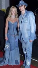 Britney Spears és Justin Timberlake 1998-ban, a legendás farmeregyüttesben